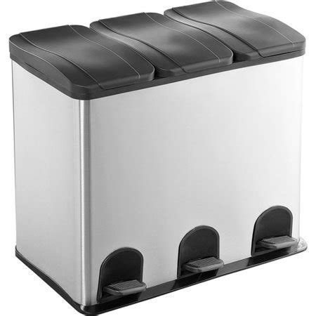 16 Gallon 3 Compartment 18/0 Stainless S   Walmart.com