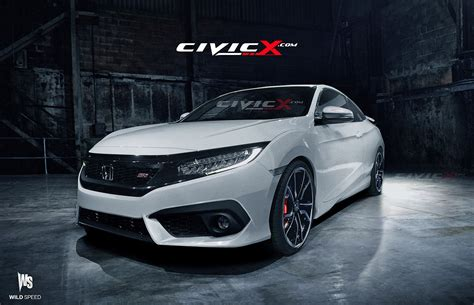 honda civic 2016 si 2016 honda civic renders 2016 honda civic forum 10th