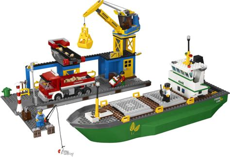Lego Cargo Boat Sets by The Top 5 Lego City Sets Of 2011