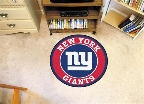 new york giants rug new york giants logo roundel mat 27 quot area rug