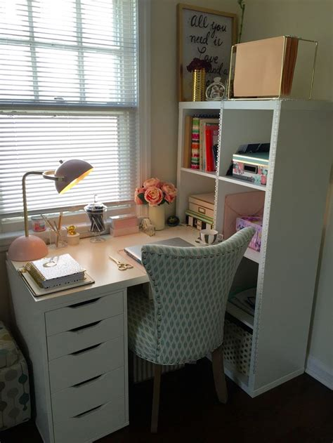 bureau furniture hemnes desk hack ikea metal shelves ideas about