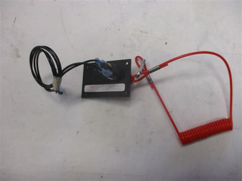 Boat Safety Lanyard Switch by Marine Boat Dash Engine Safety Kill Switch Panel And