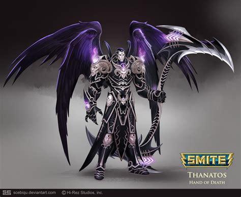 Diablo 3 Wallpaper Hd Smite Thanatos Hand Of Death Minecraft Skin