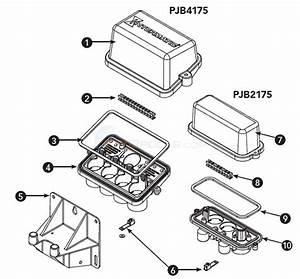 Pjb2175  U0026 Pjb4175 Junction Box Parts
