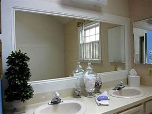 how to frame a bathroom mirror pinterest framed With molding around mirror bathroom