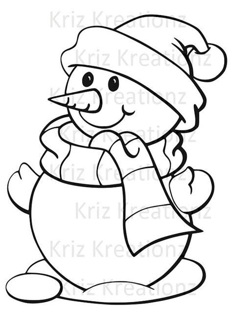 snowman outline svg cut file christmas christmas