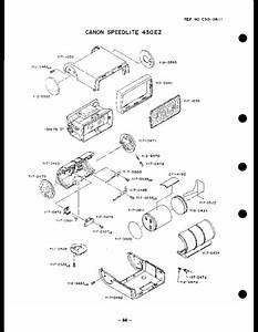 Canon Speedlite 430ez Parts Service Manual Download