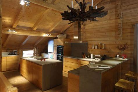 cuisine style chalet cuisine moderne dans un chalet traditionnel evignon