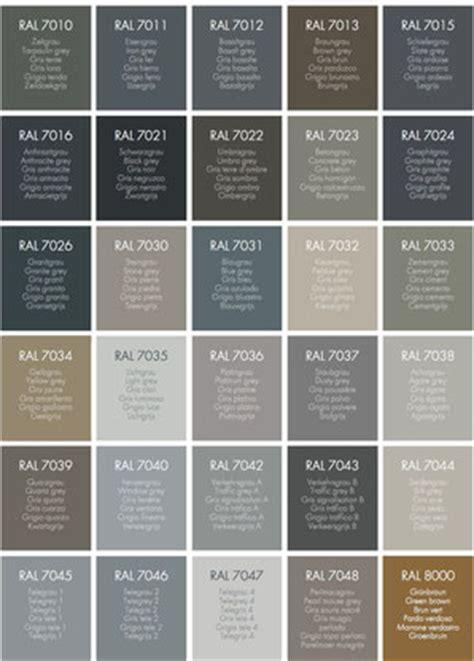 Ral Farben Grautöne by Ral Farben F 252 R Winterg 228 Rten Paquet Wintergarten