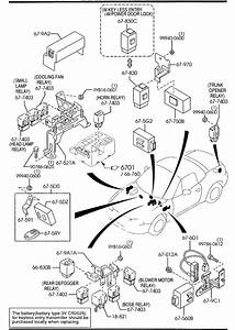 Mazda Miata Relay  Fuel Pump  Opening  Circuit