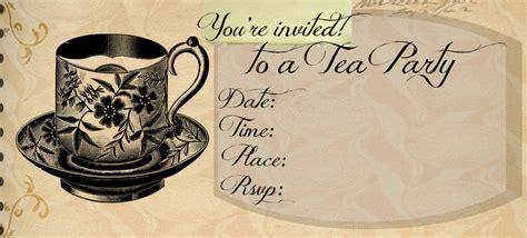 outlawathome tea party invitation template