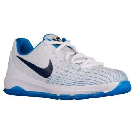 nike kevin durant shoes nike kd 8 boys preschool 213 | nike kevin durant shoes Nike KD 8 Boys Preschool Basketball Shoes Kevin Durant White Midnight Navy Photo Blue Opti Yellow sku 6