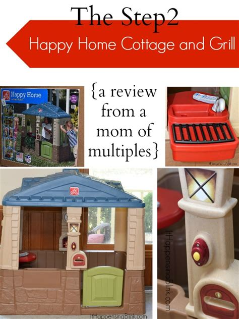 the cottage grill step2 happy home cottage and grill