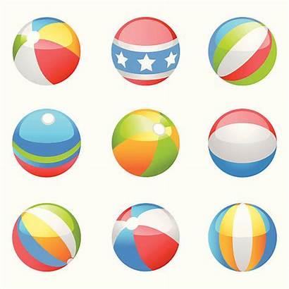 Beach Balls Vector Ball Illustration Illustrations Clip
