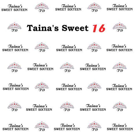 Sweet 16 Banner Template by Sweet 16 Banner Template Choice Image Template Design Ideas