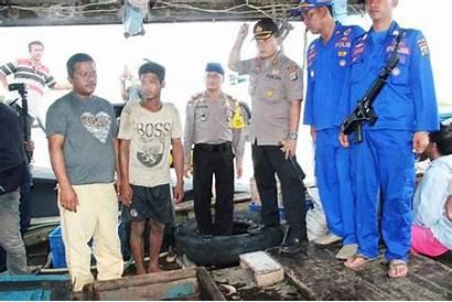 Beroperasi Bedagai Trawl Pukat Perairan Ditangkap Yang