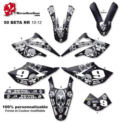kit d 233 co 50 beta rr 10 12 m 233 tal mulisha