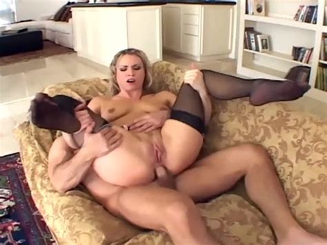 Harmony Has Anal Sex In Stockings And A Garter Free Porn