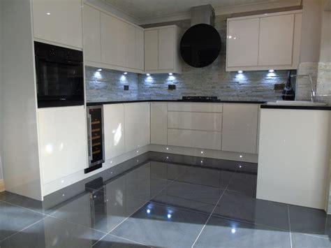 gloss kitchens ideas high gloss grey floor tiles tile design ideas