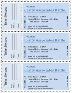 raffle ticket template images ticket template
