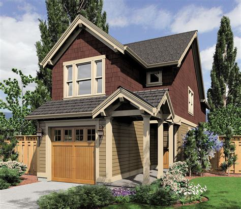 bedroom narrow lot home plan  architectural designs house plans