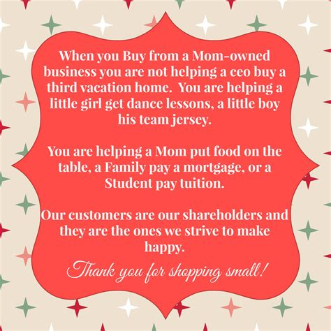 Shop Small, Shop Mom's A Momowned Business Gift Guide