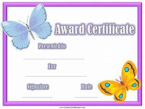 preschool diploma free template butterfly - Google ...