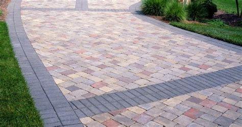 paver banding design ideas  pavers landscape