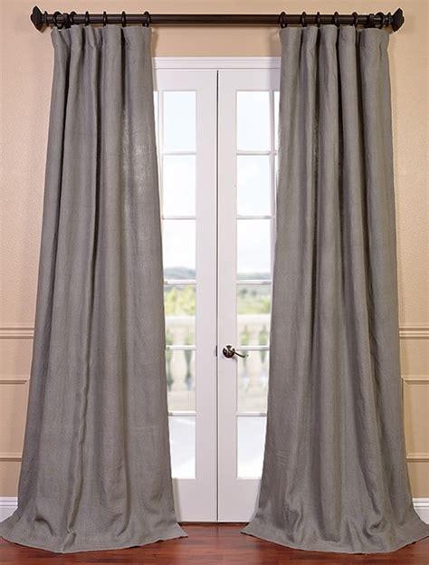 grigio grey linen curtain contemporary curtains