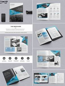 The brochure indd print template graphic design editorial design layouts logos for Indesign pamphlet template