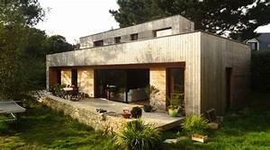 Maison Bois Contemporaine : une belle maison contemporaine en bois tyerra architectes ~ Preciouscoupons.com Idées de Décoration