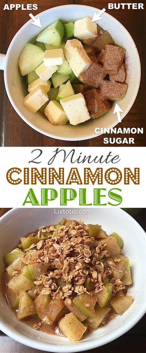 the healthy snack recipe cinnamon apples