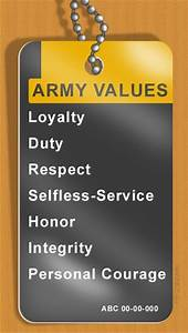 army value respect essay