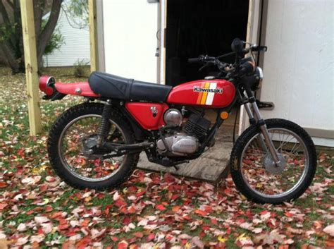 Buy Vintage Enduro/trail/trials Bike Kawasaki Ke100 On