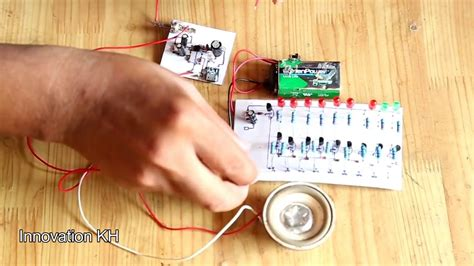 How Make Easy Led Audio Meter Circuit Using All