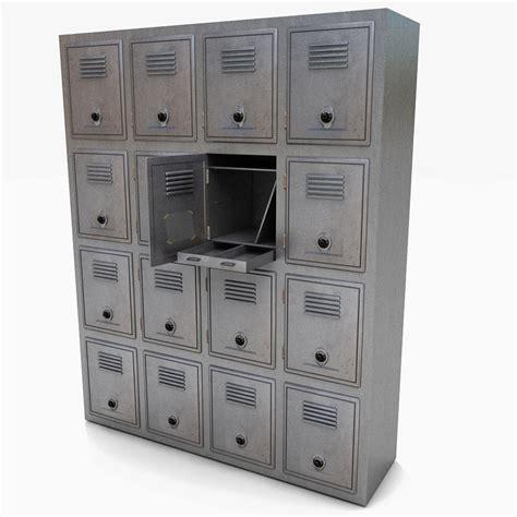 locker metal bank  model