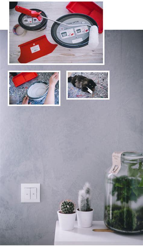 Betonoptik Möbel Selber Machen by Wand In Betonoptik Selber Machen Trendstruktur