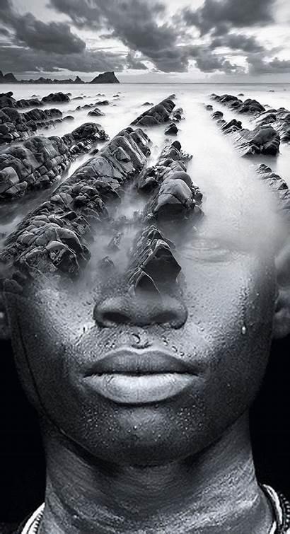 Mora Antonio George Redhawk Blind Artist Eyes
