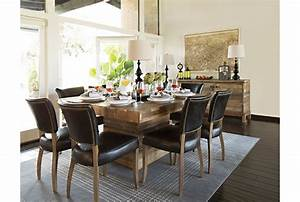 Tahoe II 58 Inch Square Dining Table - Living Spaces