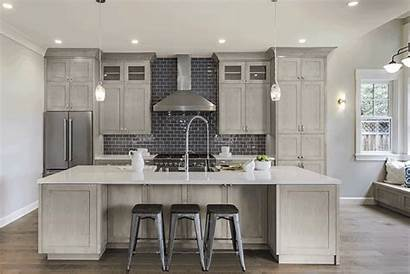 Grey Cabinets Kitchen Washed Kitchens Wash Cabinetry