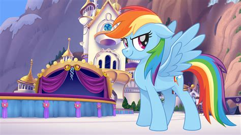 My Pony Anime Wallpaper - my pony rainbow dash wallpaper 82 images