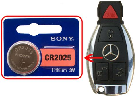 The panic button and/or trunk unlock features don't work. Mercedes: C250 C300 CLS63 CL600 E350 E550 Battery Sony ...