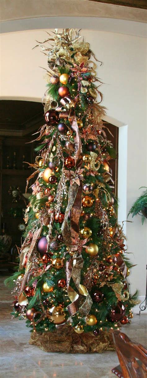 beautiful decorated trees best 25 brown decorations ideas on 4381