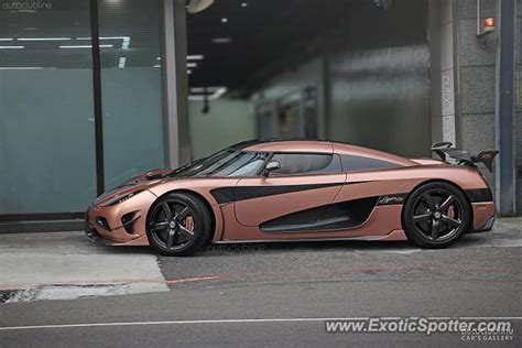 Koenigsegg Agera R Spotted In Taipei Taiwan On 10 04 2017
