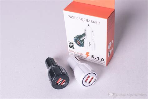 Car Charger 9v 2a 12v 1.2a Qc3.0 Fast Car Charge 3.1a Dual