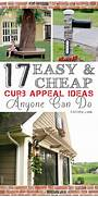 17 Easy And Cheap Curb Appeal Ideas Anyone Can Do  Doors Curbappeal And Yards