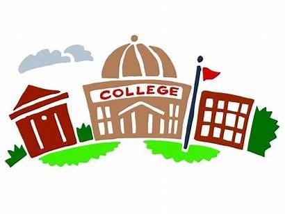 College Clip Building Campus Clipart University Colleges