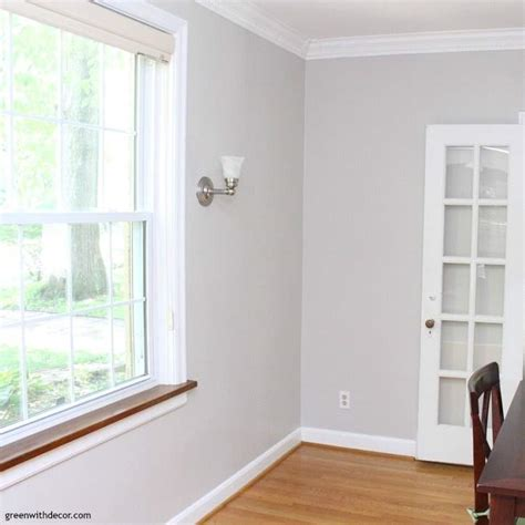 The painted dining room: Agreeable Gray - Green With Decor