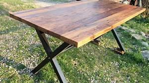 Wormy Chestnut XBase - Reclaimed Wood FurnitureReclaimed