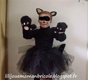 Deguisement Chat Fille : diy tuto costume chat noir fille halloween tuto costume chat noir halloween pinterest ~ Preciouscoupons.com Idées de Décoration